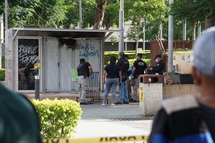 Agentes de la PNC investigan involucrados en agresiones a kiosko Chivo