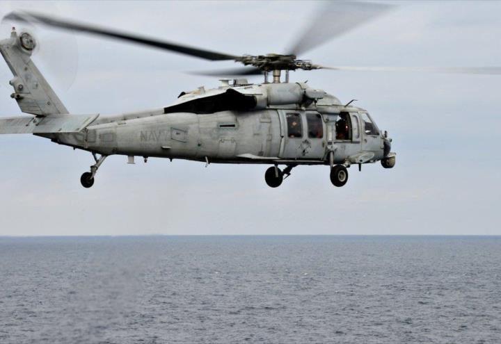 Helicóptero del ejercito estadounidence se estrella en California