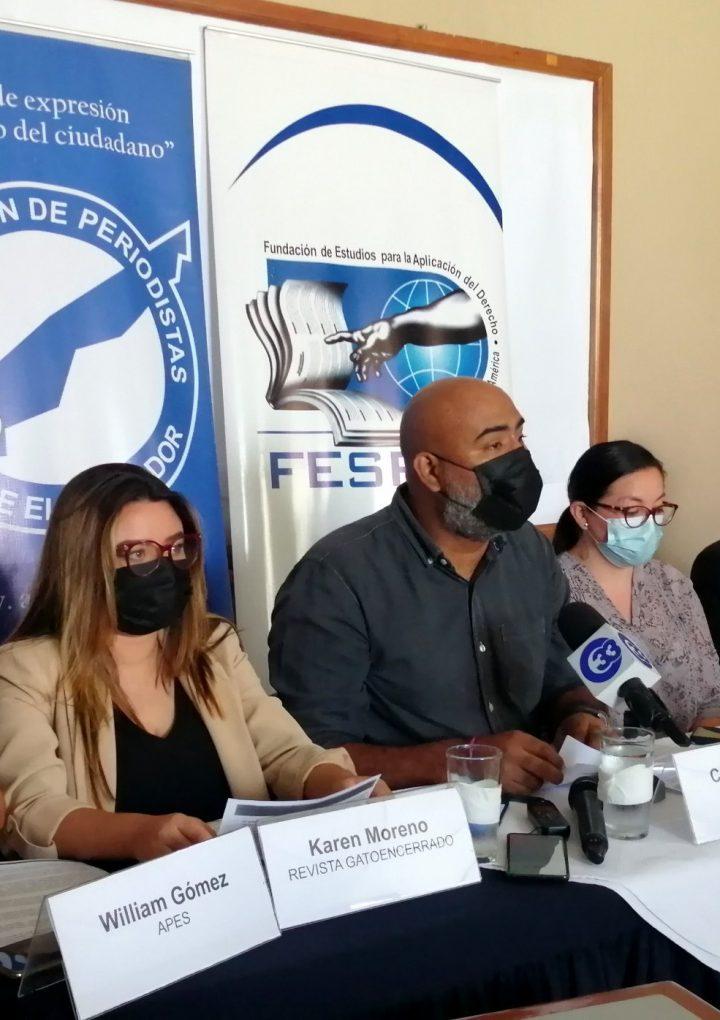 APES asegura amenazas al periodismo salvadoreño por parte de GOES