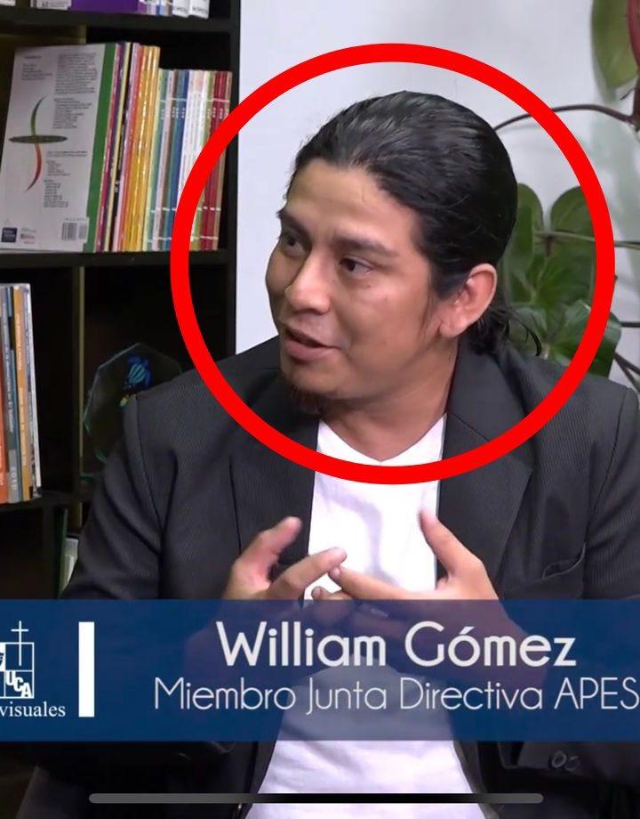 William Gómez pide disculpas públicas por parte de Bukele