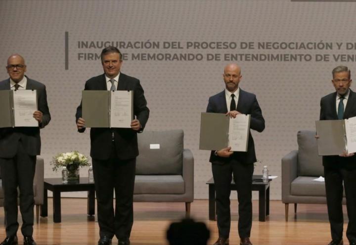 Gobierno de Venezuela y oposición comienza tercera jornada de diálogo
