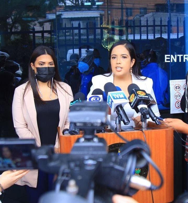 Diputadas de Nuevas Ideas presentan aviso en la FGR contra FUSADES