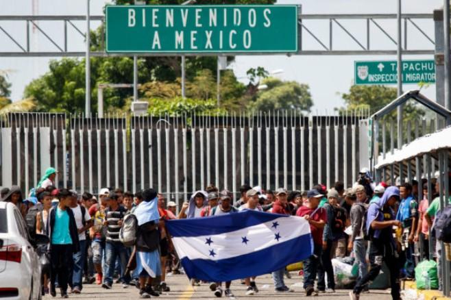 Nueva ola de migrantes rebasa posibilidad de asilo en México