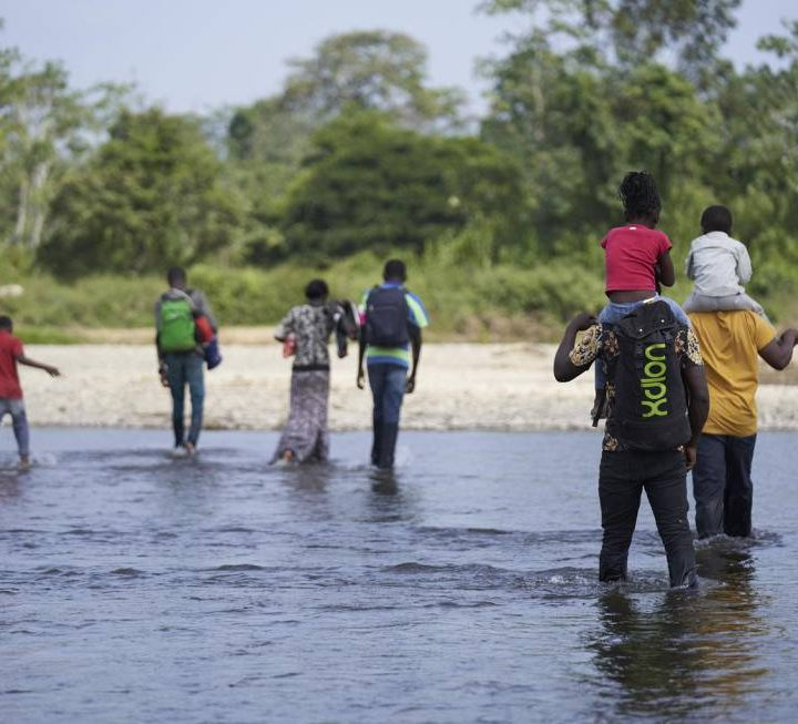 UNICEF preocupada por el paso La Selva de Darian por niños y niñas migrantes