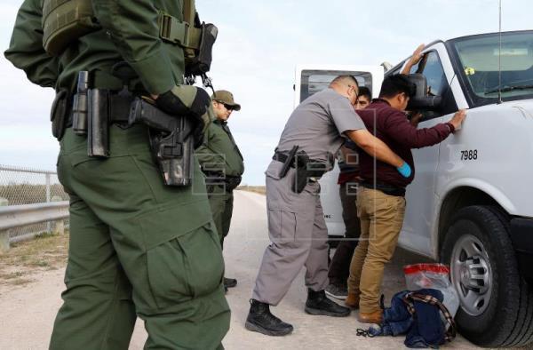 Estados Unidos registra record de detenciones en frontera