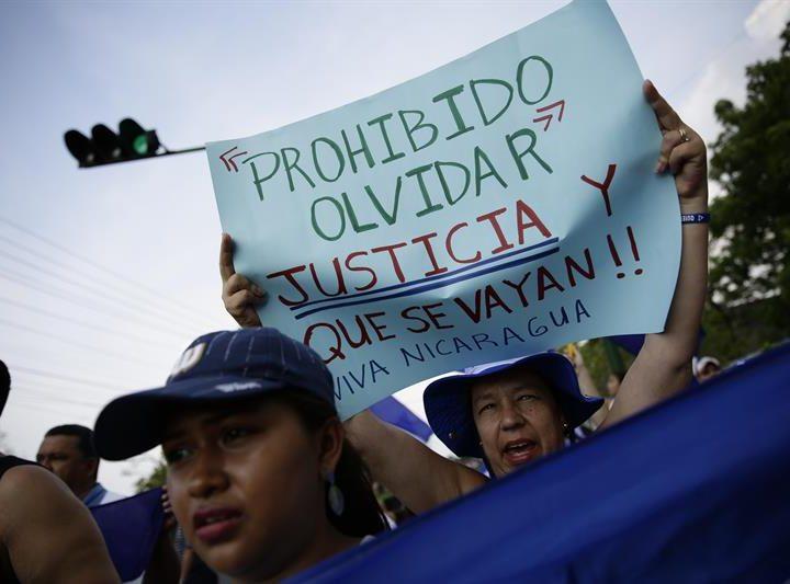 OEA exige liberación de 37 presos políticos en Nicaragua