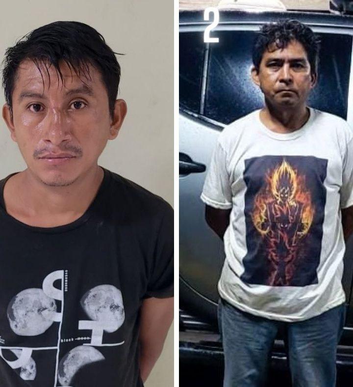 Dos hombres detenidos por violencia intrafamiliar en diferentes zonas del país