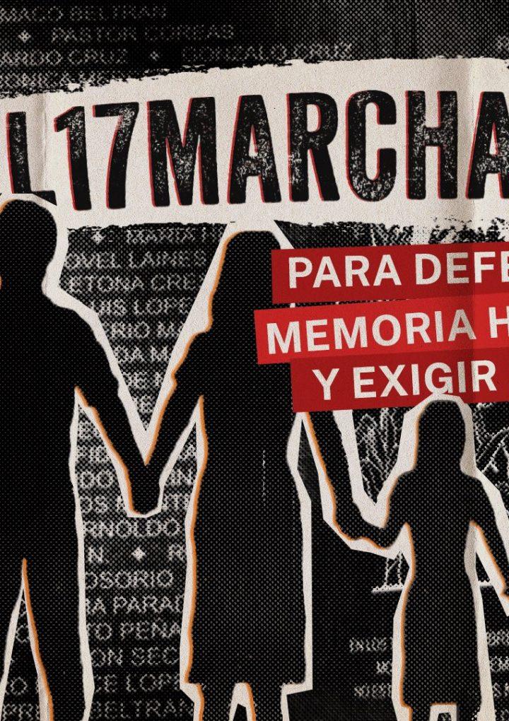 Marcha del 17 se convierte en tendencia en redes sociales