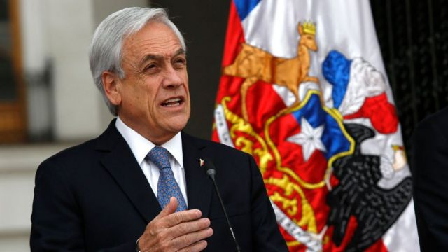 Fiscalía chilena abre investigación contra presidente Piñera