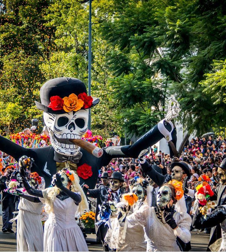 Celebración del «Día de los muertos»
